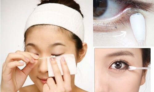 Eye care before eyelash extensions