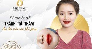 The Secret To Avoid Darkening Of Lips After Spraying