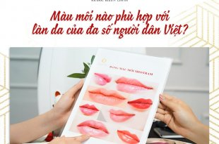 Which Lip Color Is Suitable For The Skin Of The Most Vietnamese People