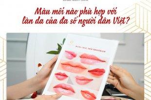 Màu Môi Nào Phù Hợp Với Làn Da Của Đa Số Người Dân Việt