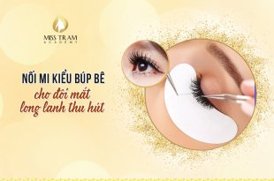 Doll Eyelash Extensions For Attractive Glitter Eyes