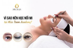Why Should You Learn Eyelash Extensions At Miss Tram Academy