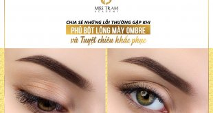 Common Error in Ombre Eyebrow Powder & Corrective Remedy 5