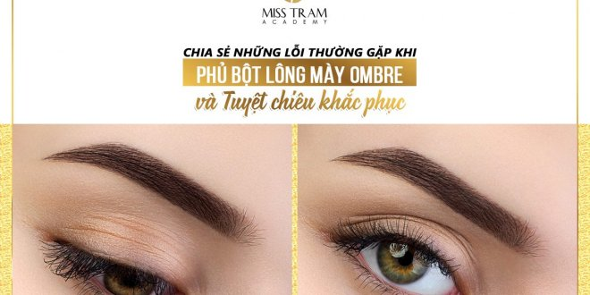 Common Faults of Ombre Eyebrow Powder & Corrective Remedy 9