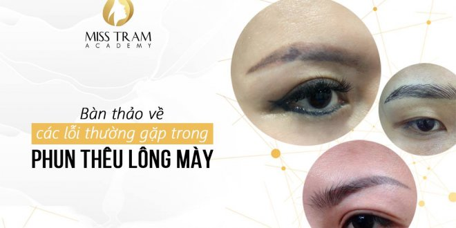 Discuss Common Errors in Eyebrow Embroidery Spray 1