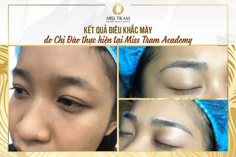 Image of Results of Eyebrow Sculpture by Students 2