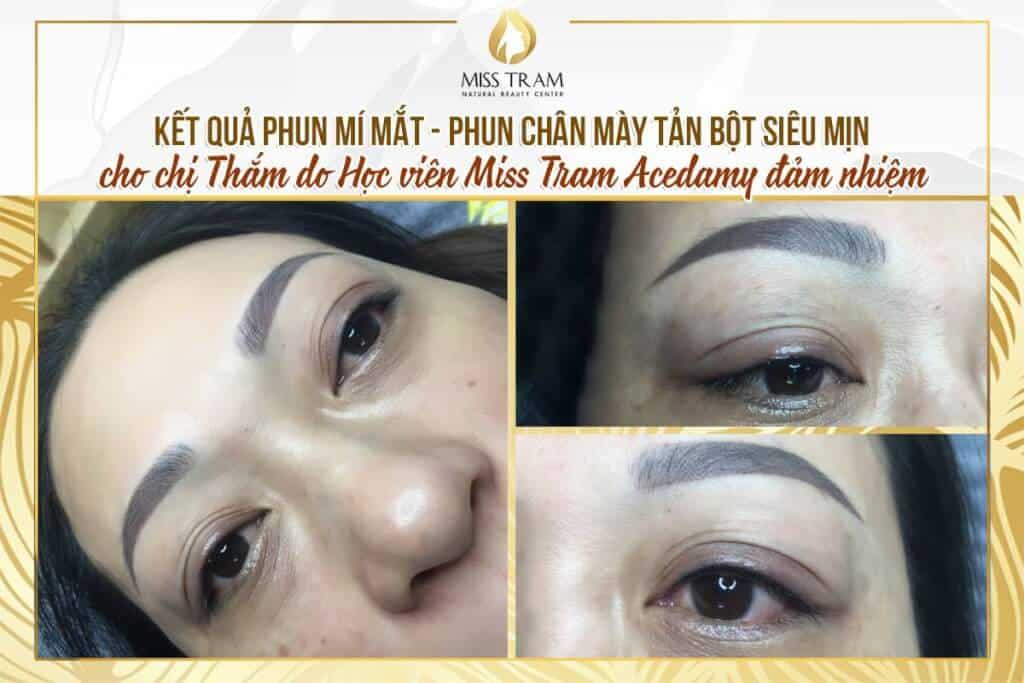 Eyelid Spray - Super Fine Powder For Women 2