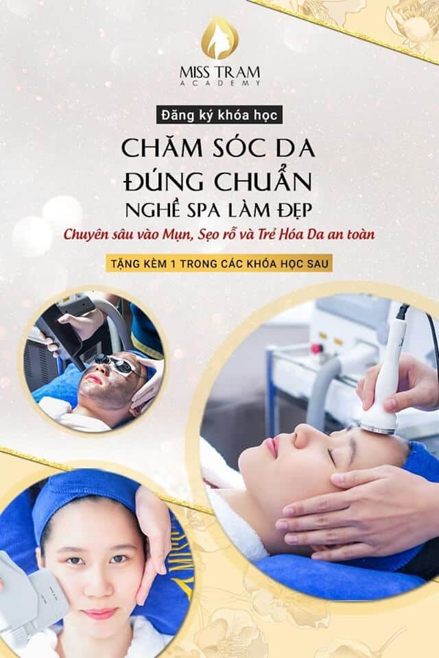 Learn about the skincare course at Miss Tram
