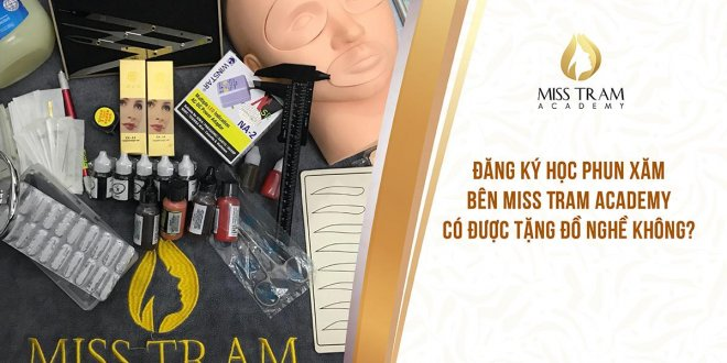 Register to learn tattooing party Miss Tram Can get Free Tools 1
