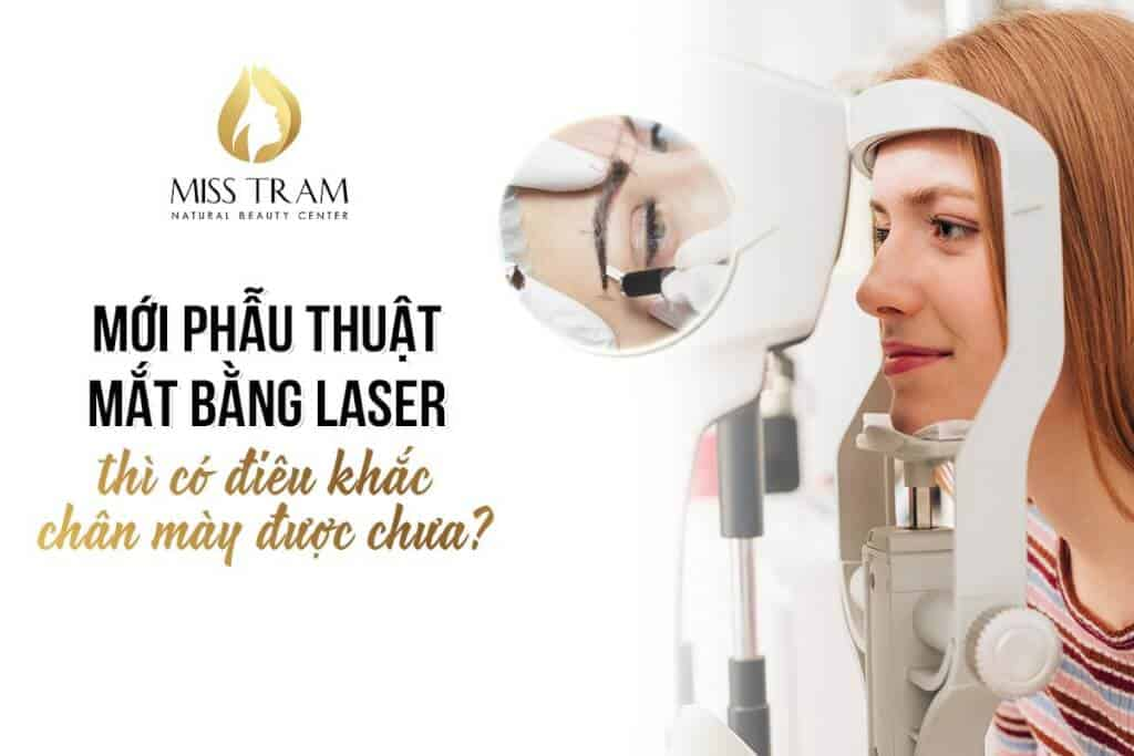 New Laser Eye Surgery Is Sculpting Eyebrows Yet 2