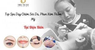 Top Spa Teaching in Dien Bien: Skin Care Profession, Cosmetic Tattooing
