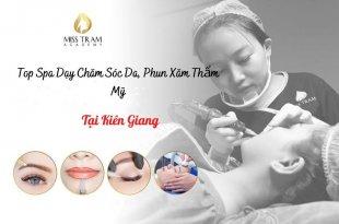 Top Spa Teaching In Kien Giang: Skin Care, Cosmetic Tattooing 8