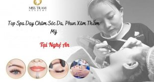 Top Spa Teaching in Nghe An: Skin Care Profession, Cheap Quality Cosmetic Tattooing