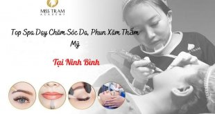 Top Spa Vocational Skincare, Cosmetic Tattoo Spraying In Ninh Binh 7