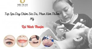 Top Spa Vocational Skincare, Cosmetic Tattoo Spraying In Ninh Thuan 7
