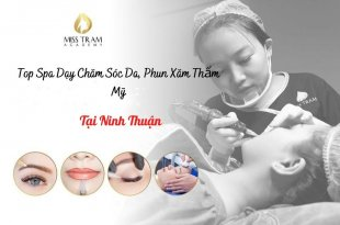 Top 9 spas teaching skin care, cosmetic tattooing in Ninh Thuan