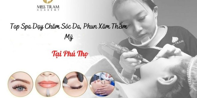 Top Spa Vocational Training Skin Care, Cosmetic Tattoo Spraying In Phu Tho 1