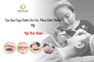 Top Spa Teaching in Tra Vinh: Skin Care, Cosmetic Tattooing, how many jobs are available when you graduate