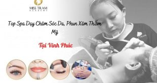 Top Spas Teaching Skin Care, Cosmetic Tattooing In Vinh Phuc