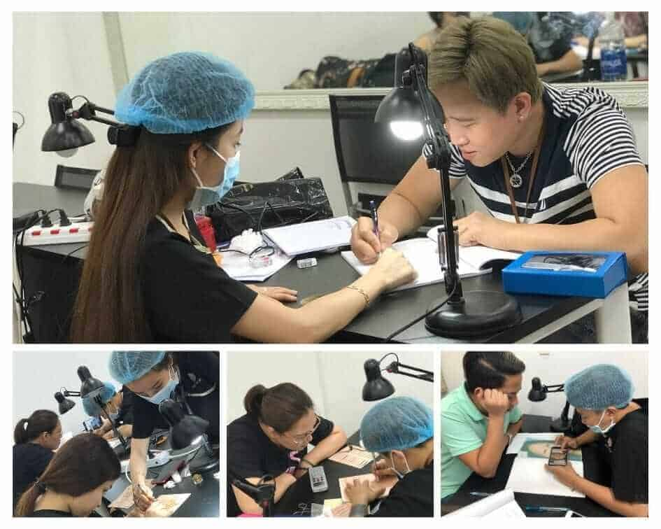 Tattoo - Embroidery - Sculpting Course [Eyebrow - Eye - Lip] Course 9