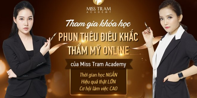 Miss Tram Academy Online Cosmetic Tattooing Course 1