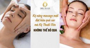 """Kỹ Năng Massage Mặt Đạt Hiệu Quả Cao KTV Spa Không Thể """"Làm Ngơ"""" 3"""