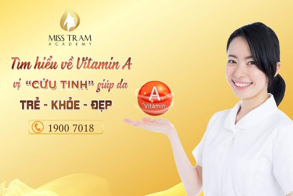 Vitamin A for healthy skin