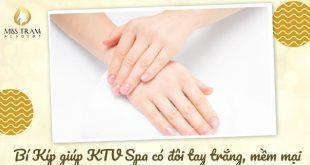 cách giúp ktv có đôi tay trắng mịn