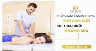 học nghề spa cho nam giới