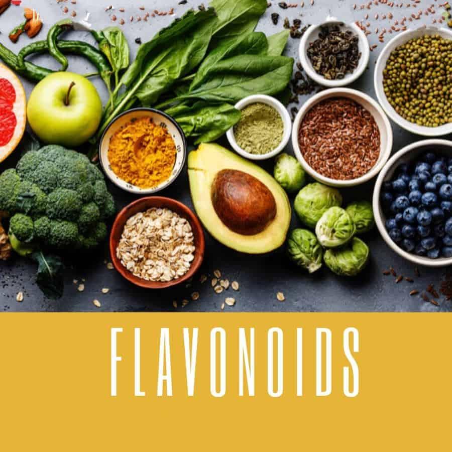 Flavonoids chống lão hóa da hiệu quả