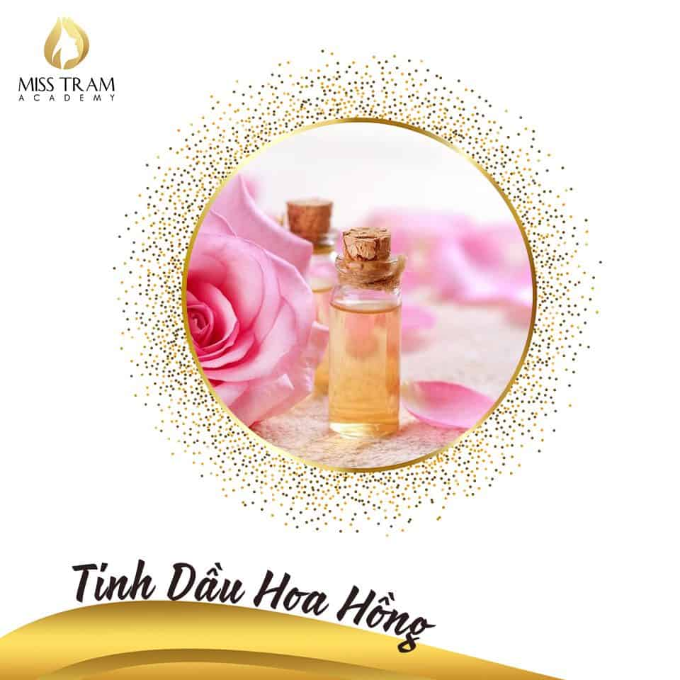 Rose essential oil for spa use