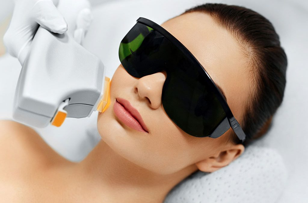 Application of IPL technology in beauty